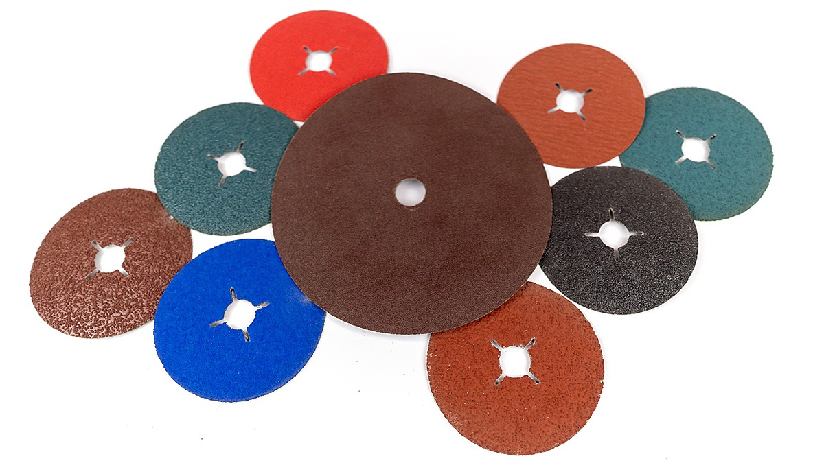 Fibre discs and emery cloth discs